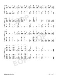 拉德斯基进行曲-新年音乐会钢琴独奏版双手简谱预览2图片