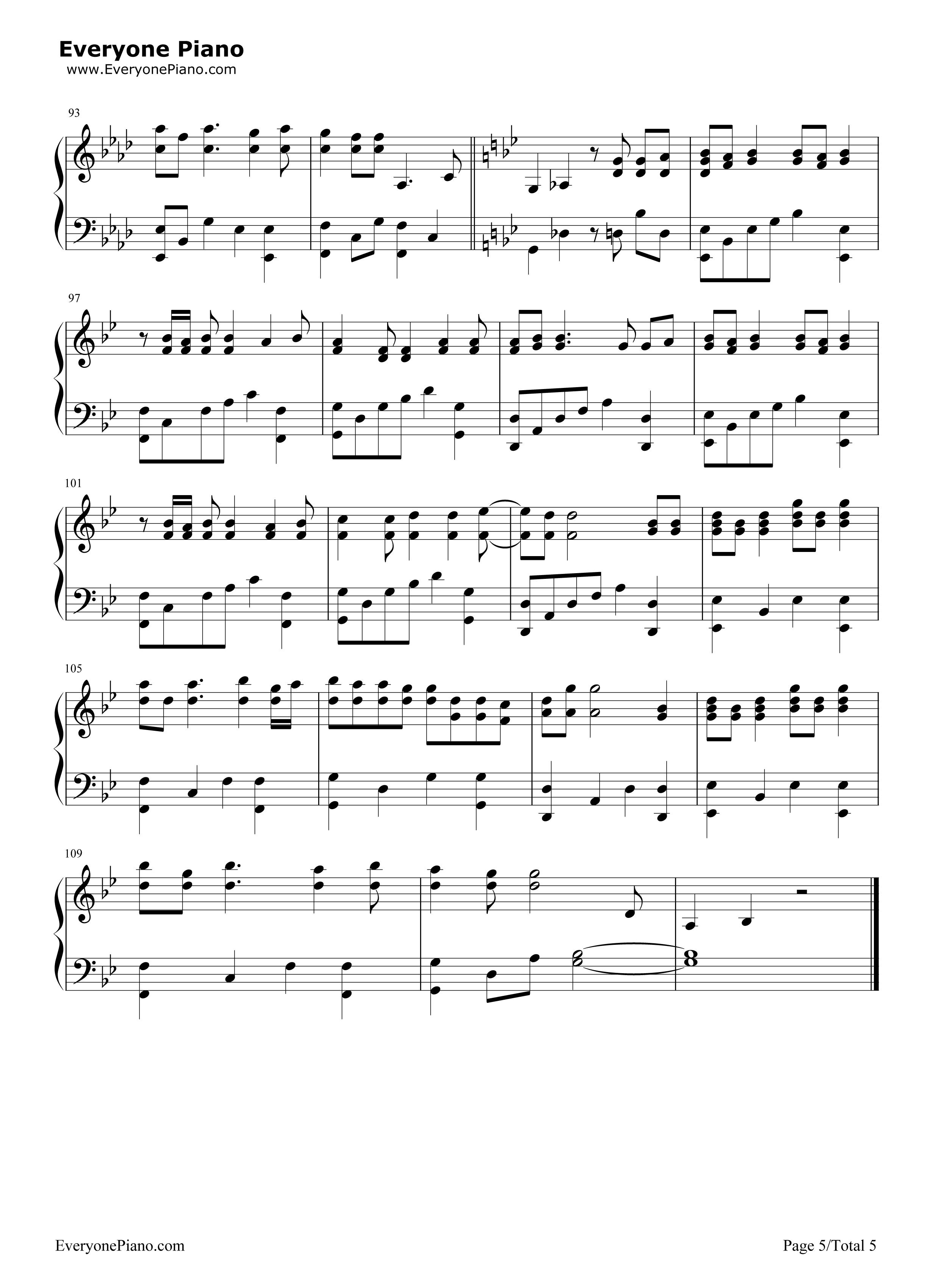 抖音纸短情长钢琴谱 纸短情长简谱抖音