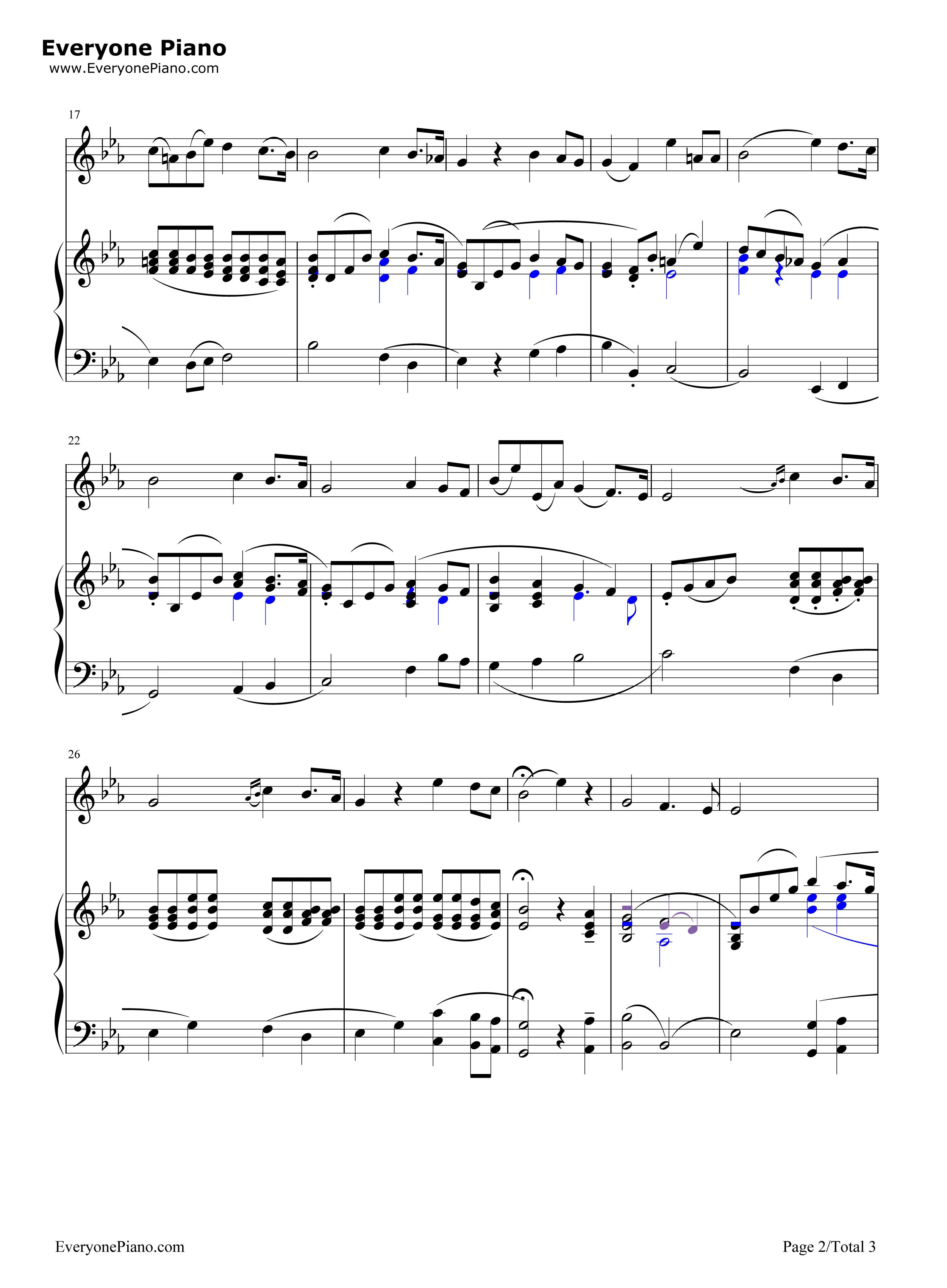 网站首页 钢琴曲谱 经典 caro mio ben-我亲爱的-意大利歌曲 >> caro