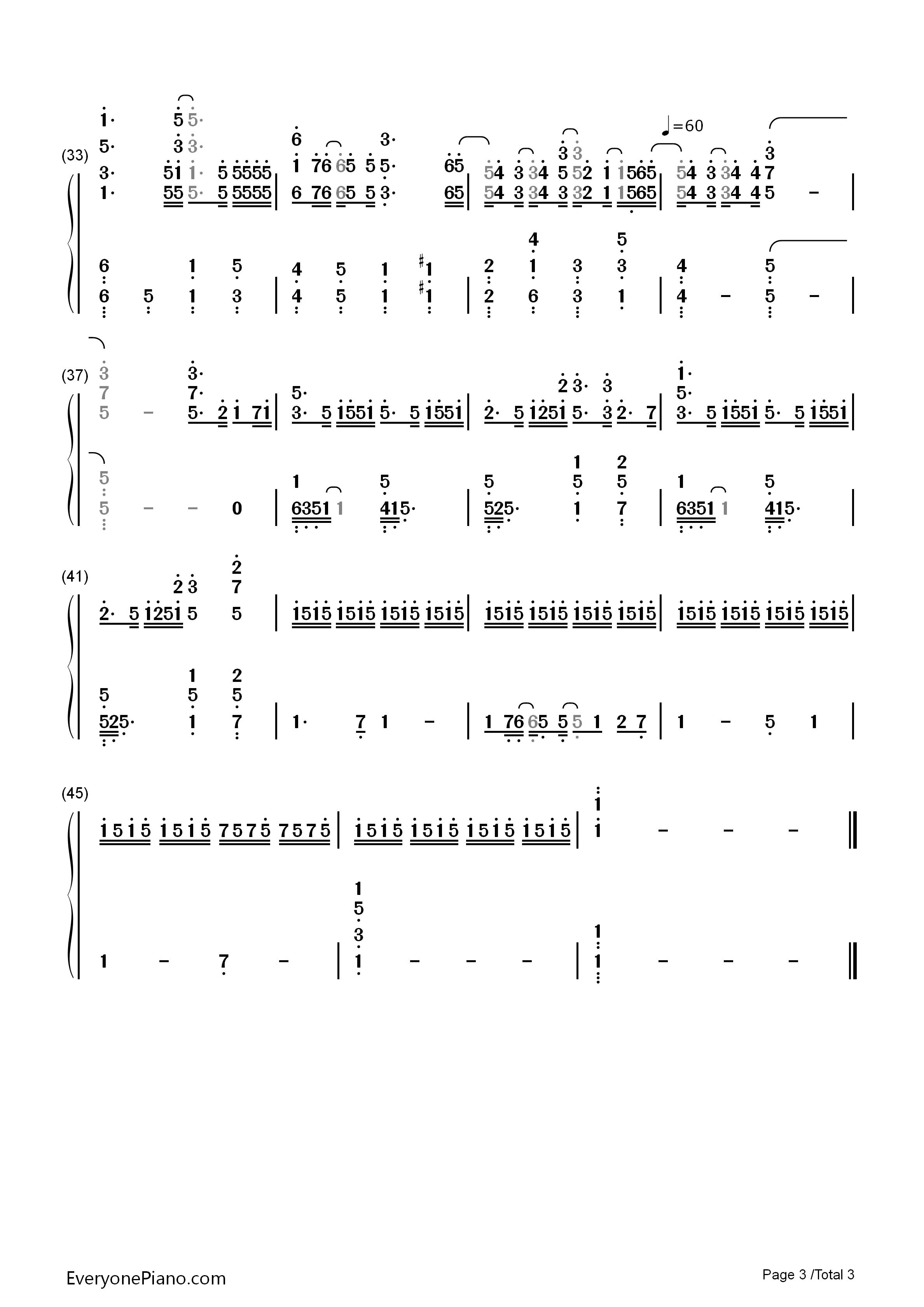 planetes-罪恶王冠:失落的圣诞节ova主题歌双手简谱3
