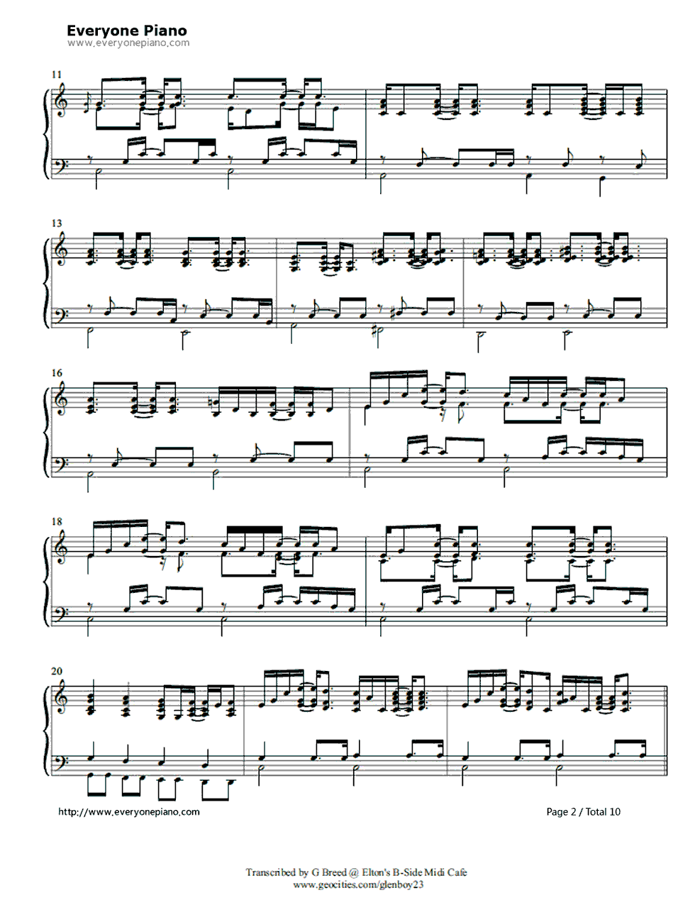 Tiny dancer piano music piano ideas tiny dancer sheet music for piano and more hexwebz Images
