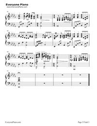 all i ask of you-歌剧魅影ost五线谱预览2-钢琴谱图片