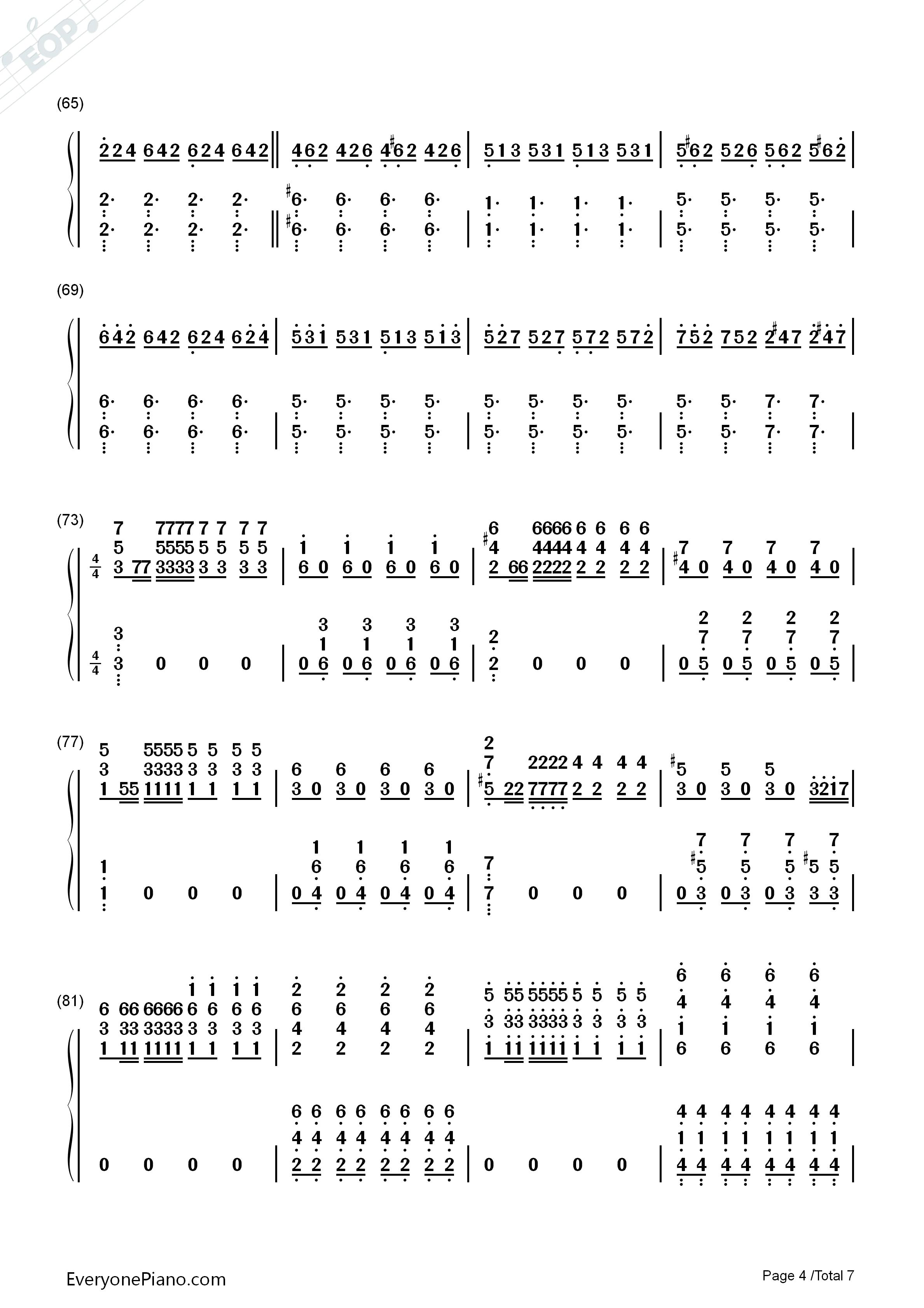 let it go伴奏-the piano guys-冰雪奇缘主题曲双手简谱预览4