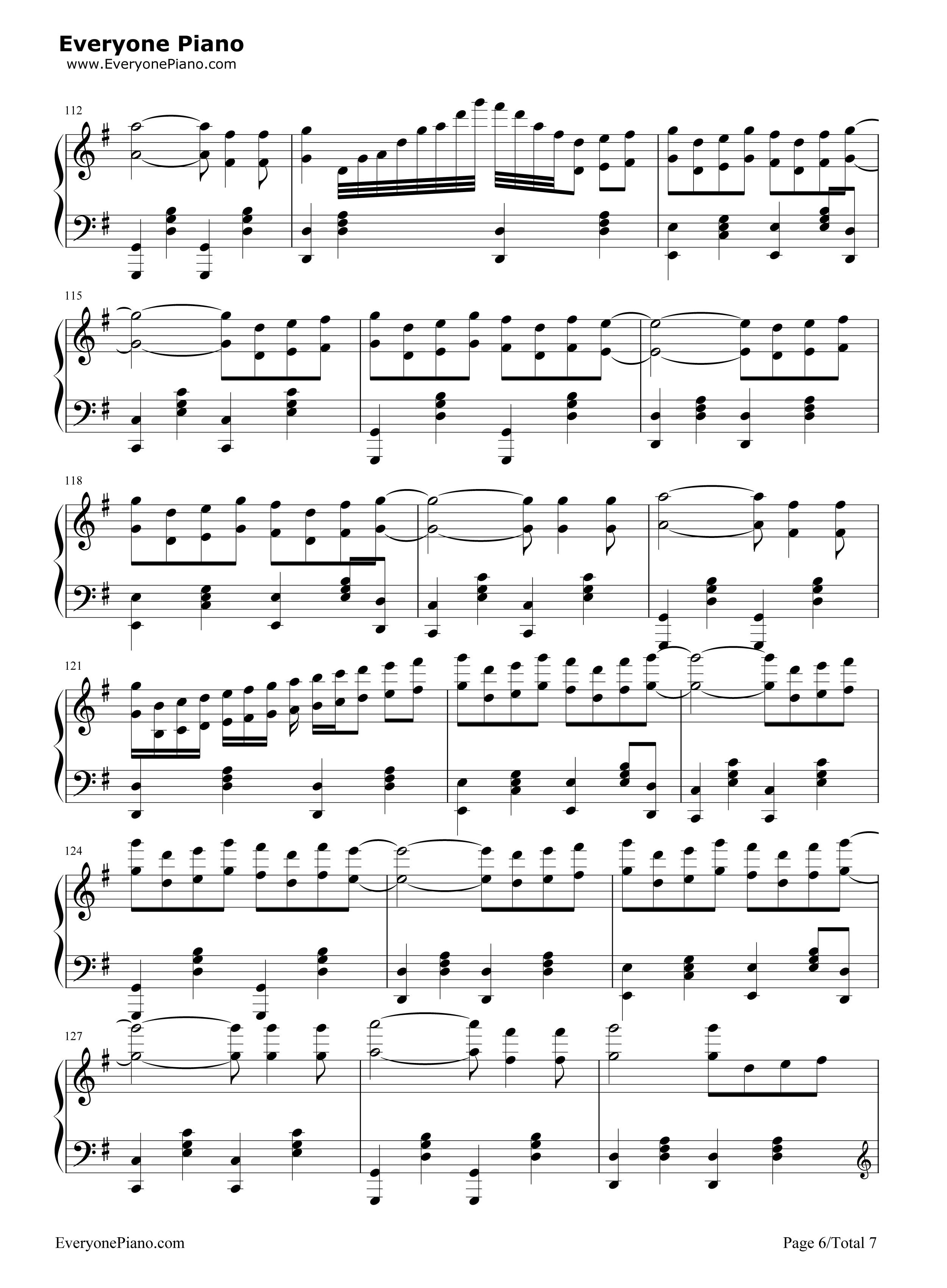 钢琴谱文件 五线谱 双手简谱 数字谱 Midi PDF 免费下载