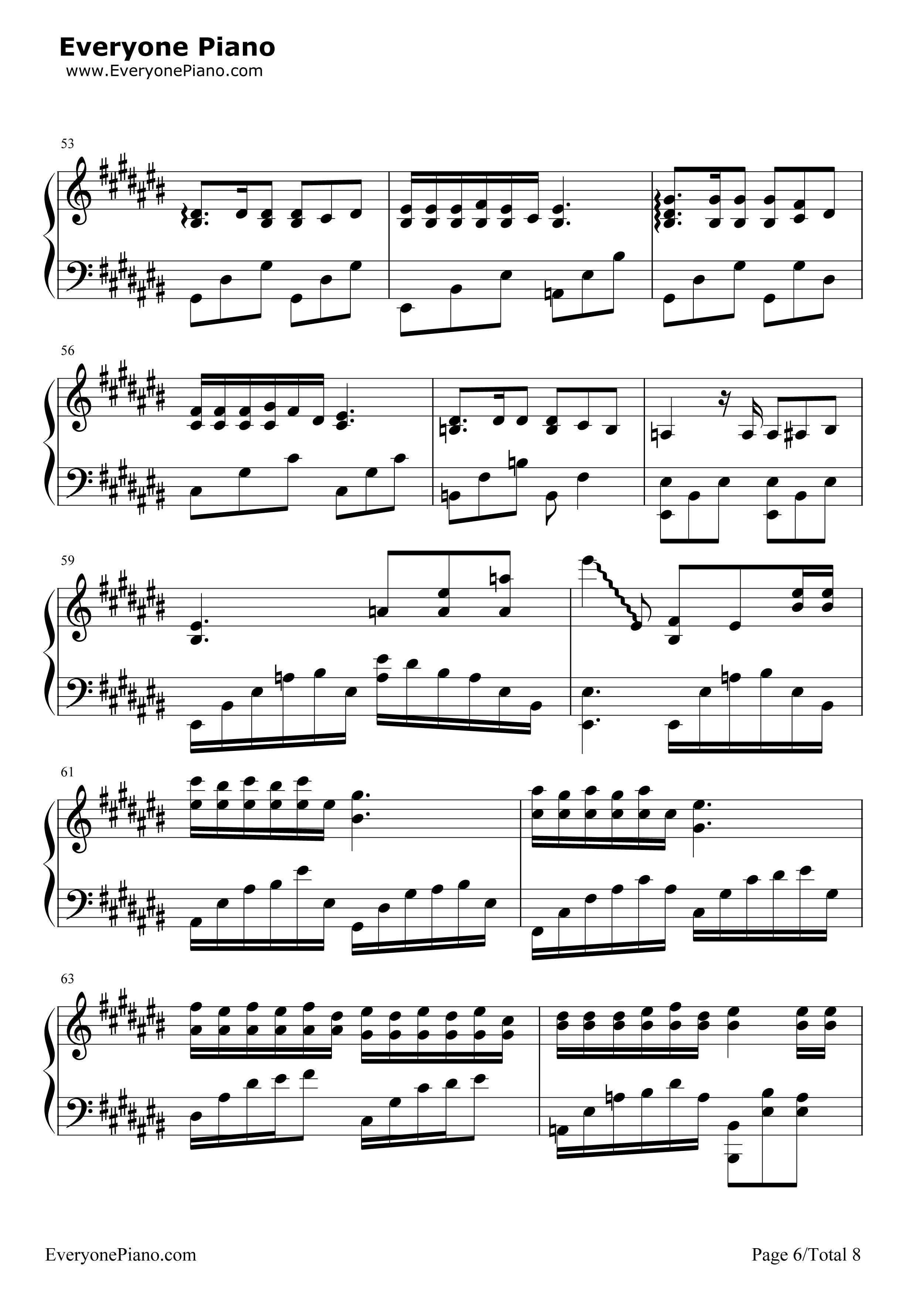 匆匆那年-匆匆那年主题曲五线谱预览6-钢琴谱图片