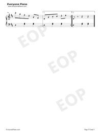浮士德圆舞曲-夏尔 古诺-钢琴谱图片
