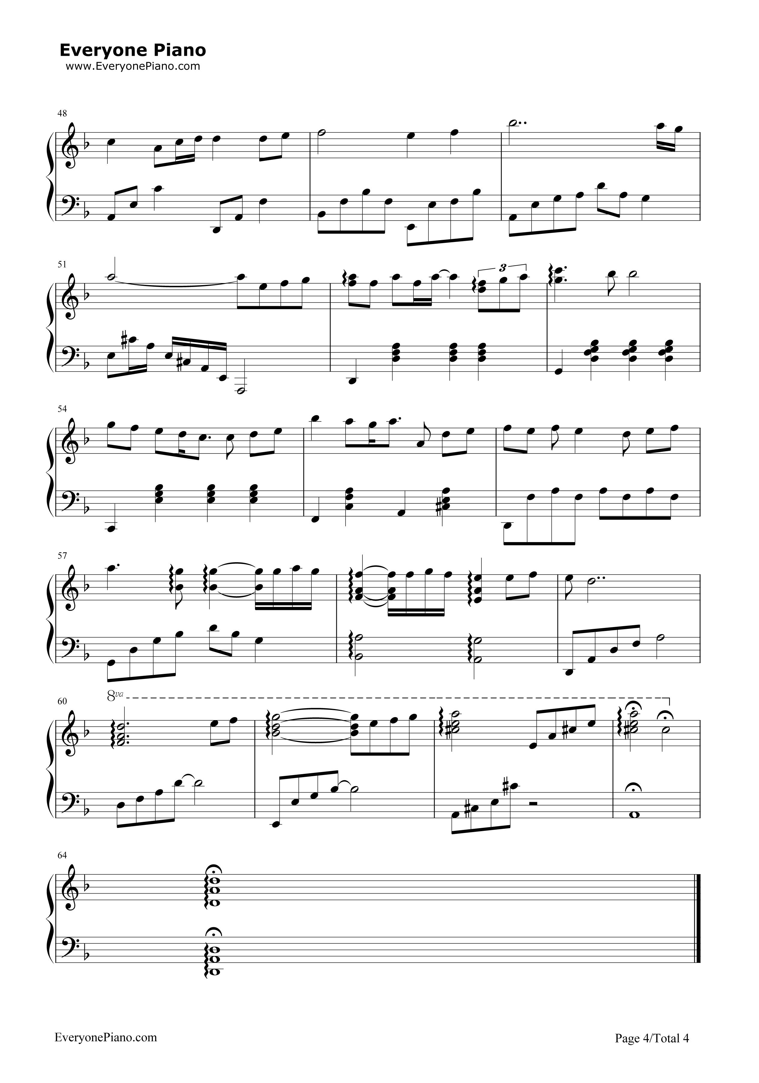 钢琴曲谱 流行 月半小夜曲-ハーフムーンセレナーデ 月半小夜曲-ハー