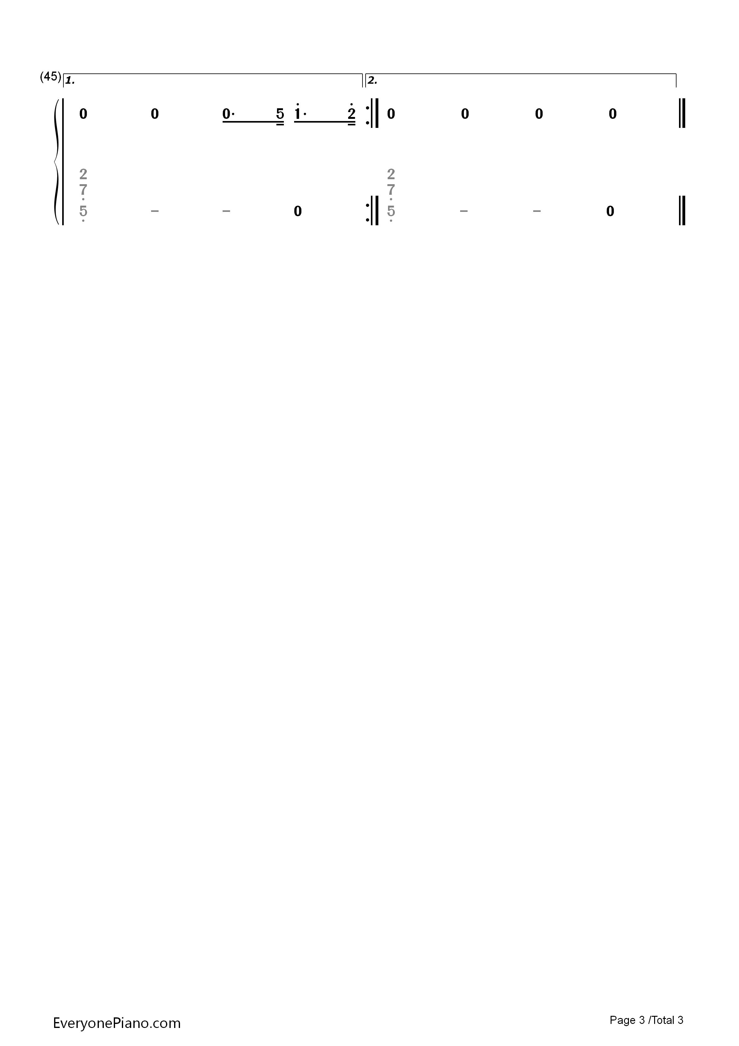 宠爱-eop魔鬼训练营练习曲双手简谱预览3-钢琴谱文件图片