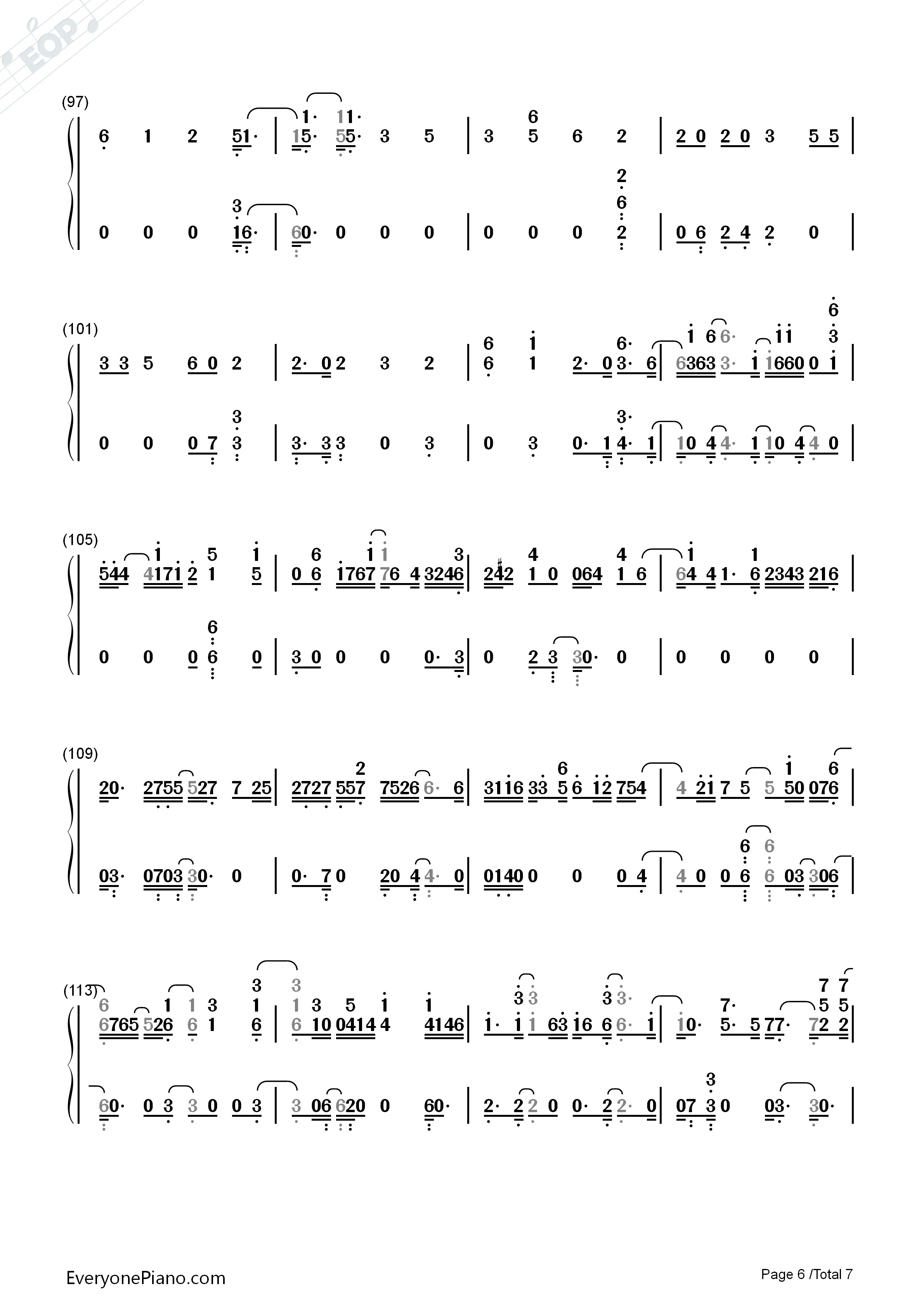 04:23 星月神话-神话插曲 03:34 夜的钢琴曲 5-eop五周年庆典 04:34图片