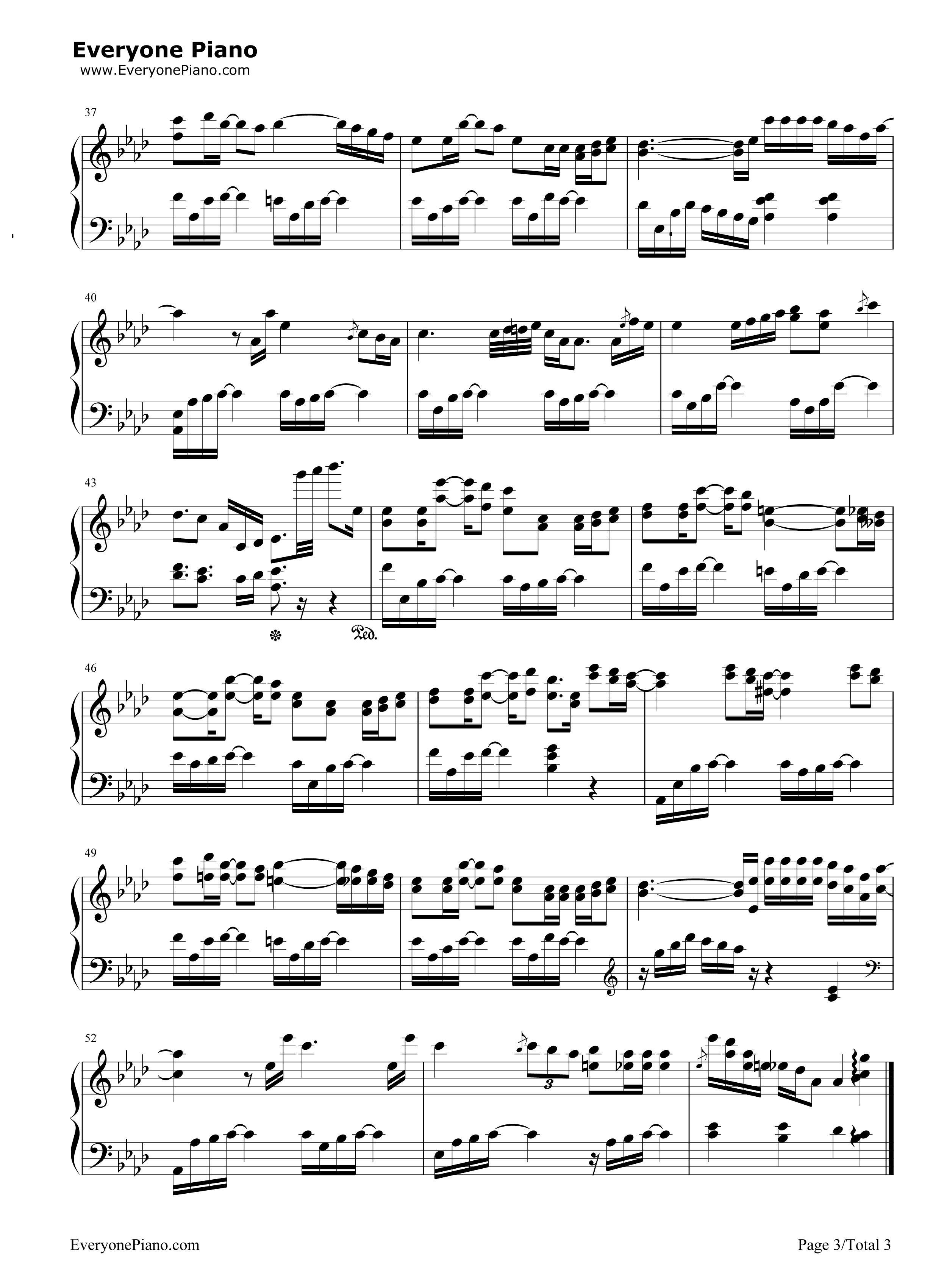 iu 心情 钢琴简谱